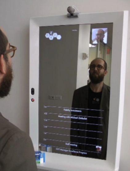Interactieve spiegel