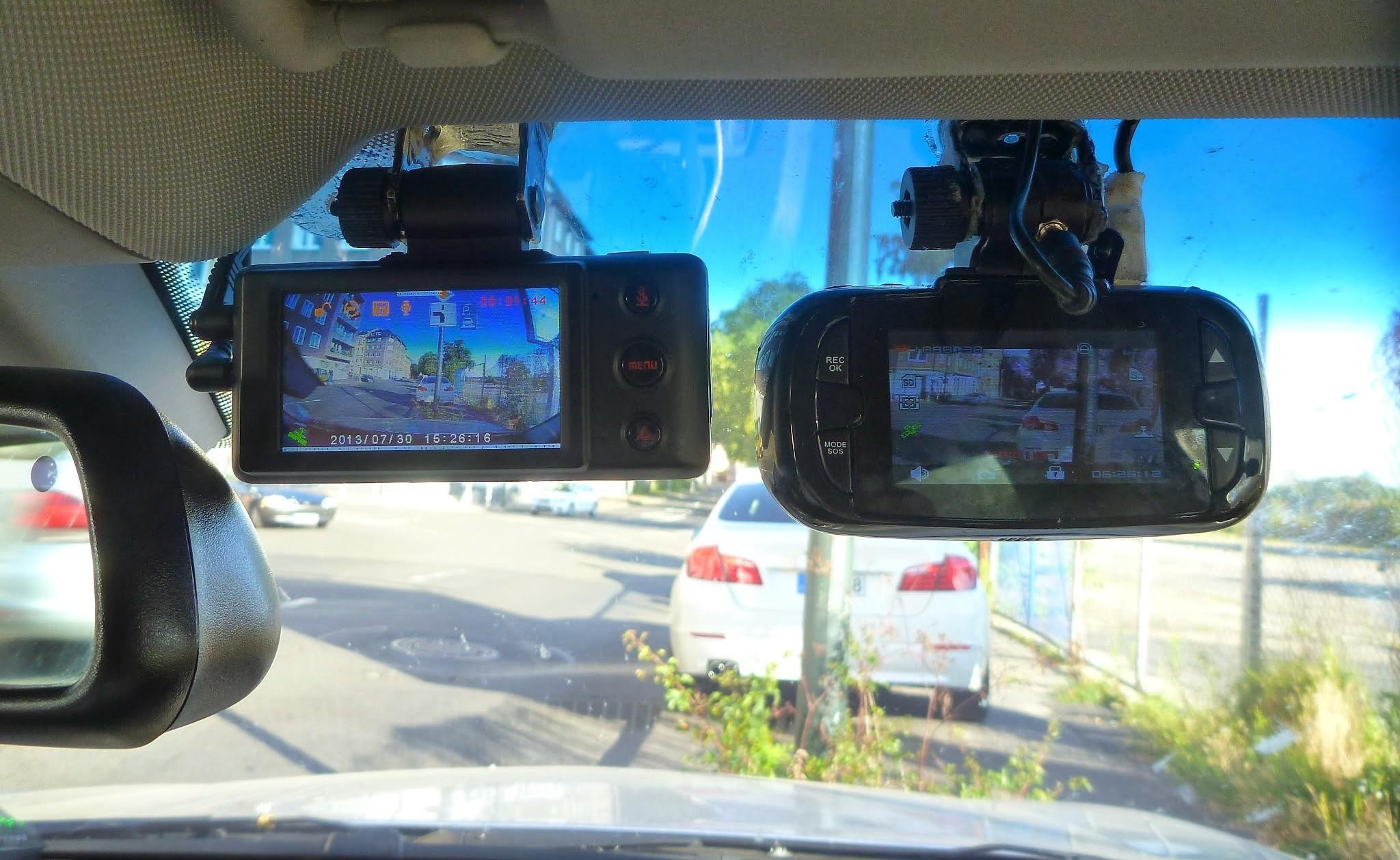 Dashcams autocamera's