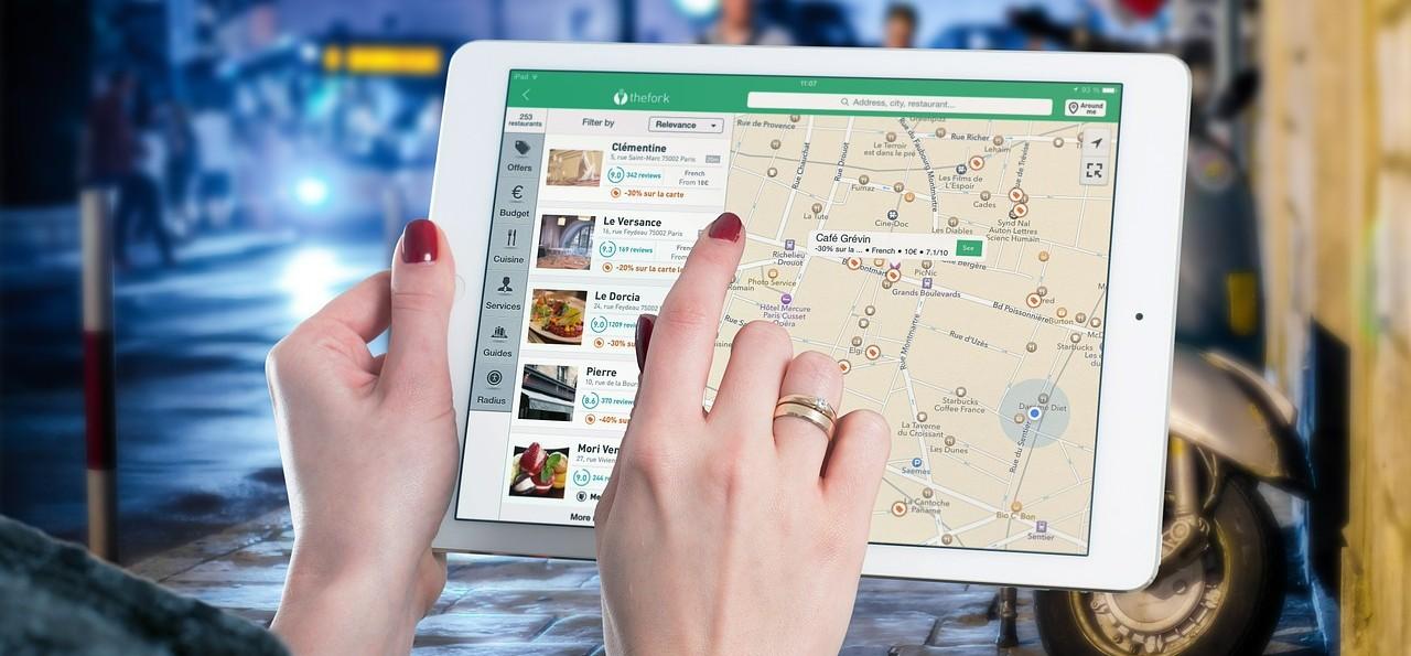 touchscreen software navigatie