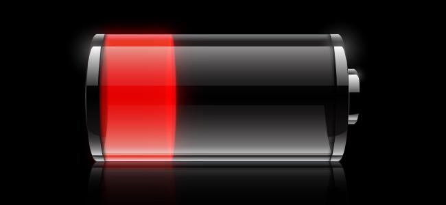 smartwatch batterij