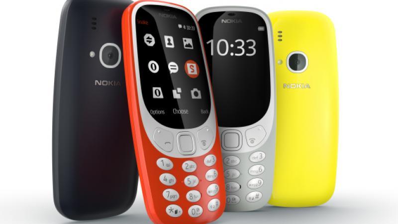 nieuwe Nokia 3310 MWC 2017