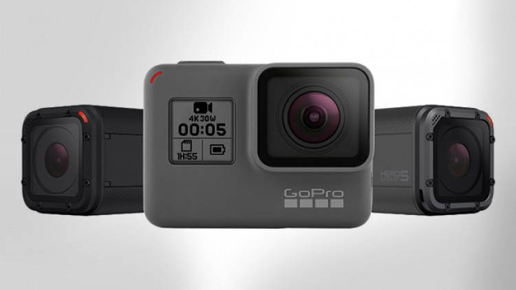 gopro hero session camera's