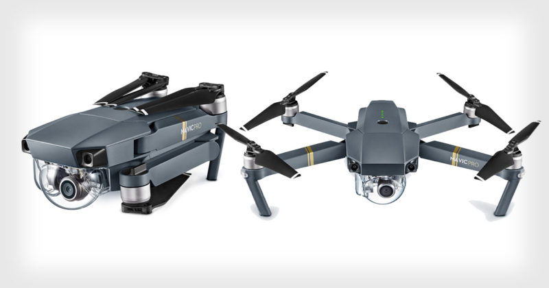 Mavic Pro selfie drone