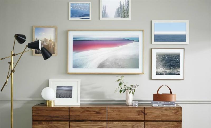 Samsung frame televisie art