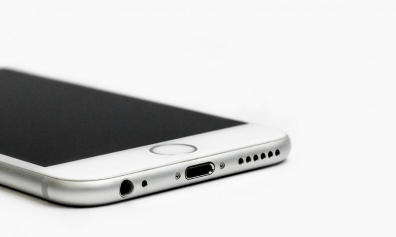 een iPhone waar een verzekering nodig is