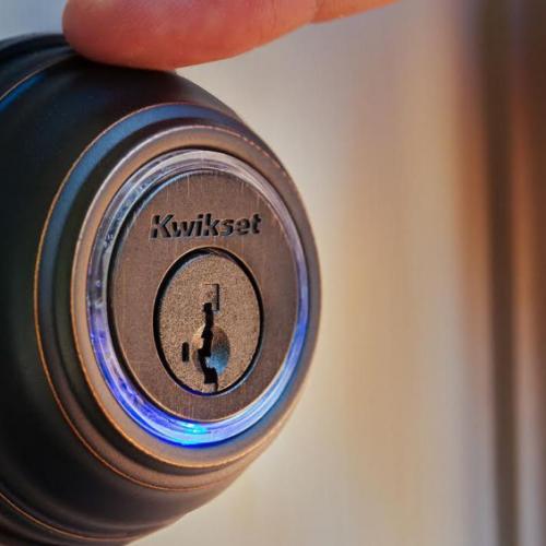 een smart lock voor het beveiligen van huis