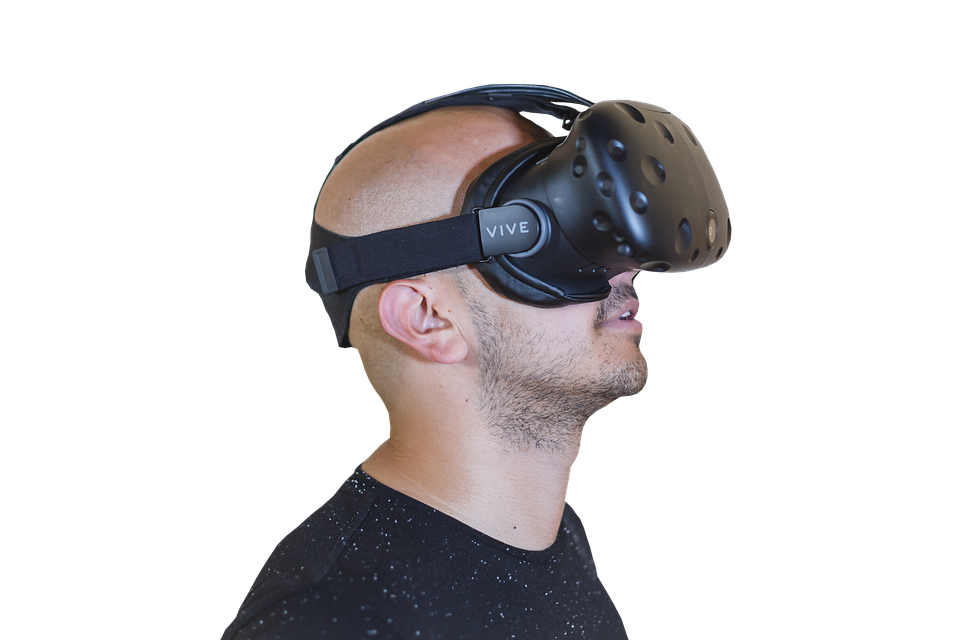Gaming industrie VR bril