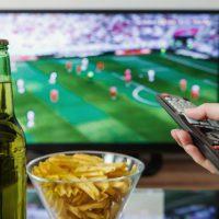 gadgets voor voetbalwedstrijd