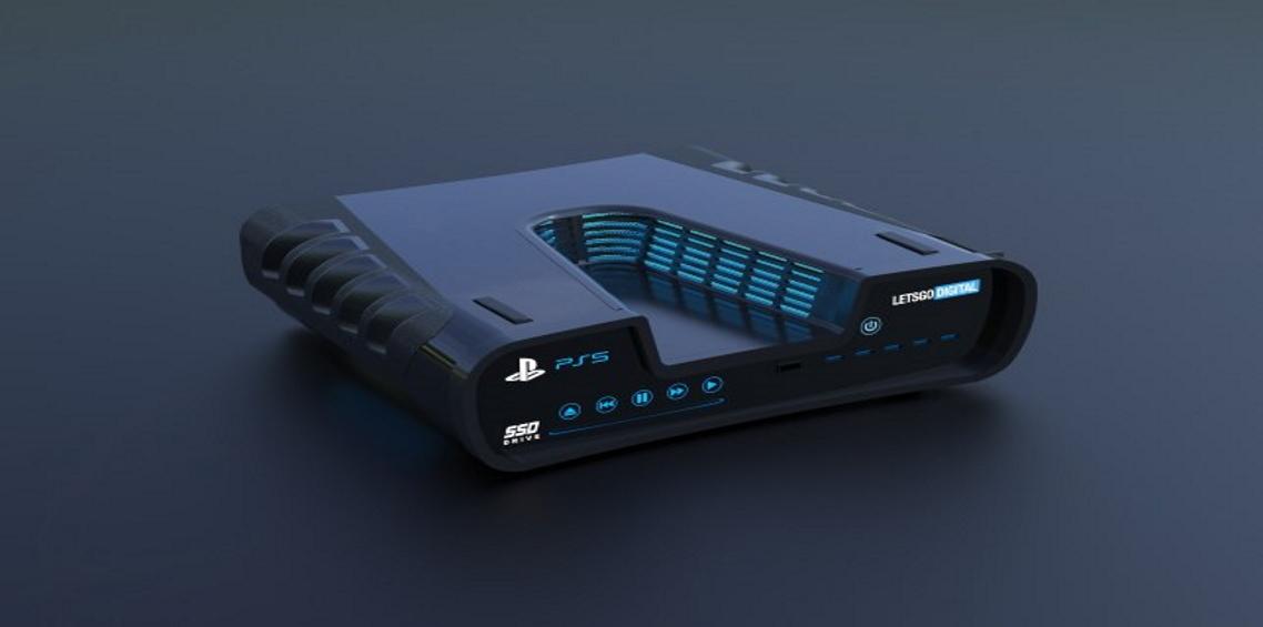 Playstation 5 Dev Kit model