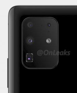 Galaxy S20 Camera Design