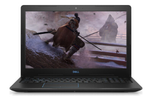 Een laptop met een witte achtergrond