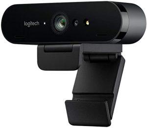 4K Brio Logitech webcam
